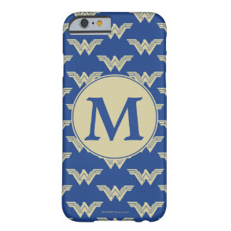 Monogram Wonder Woman Logo Pattern Barely There iPhone 6 Case