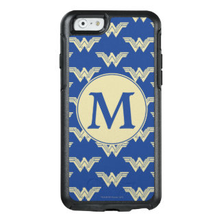 Monogram Wonder Woman Logo Pattern OtterBox iPhone 6/6s Case