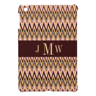 Monogram ZigZag Pattern  iPad Mini Case