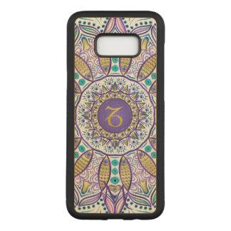 Monogram Zodiac Sign Capricorn Mandala Carved Samsung Galaxy S8+ Case