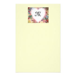 monograme stationery paper