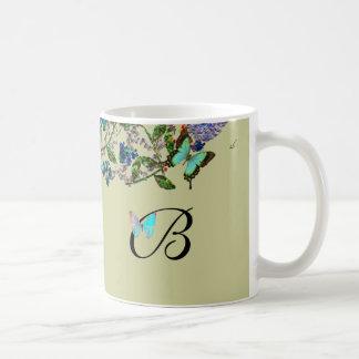 Monogramed Bejeweled Mug