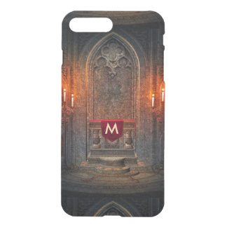 Monogramed Gothic Interior Architecture iPhone 7 Plus Case