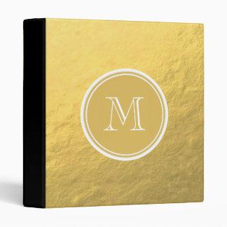 Monogramme d arrière - plan de feuille d or de cha
