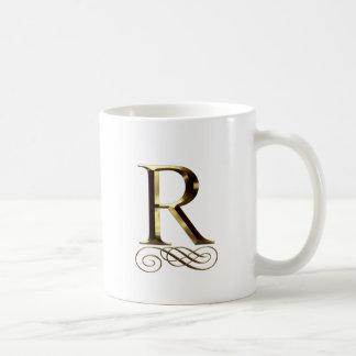 Monogramme de l or R de VIP Mug