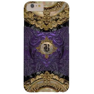 Monogramme élégant de Chalchadoriz Royale 6/6s Coque Barely There iPhone 6 Plus