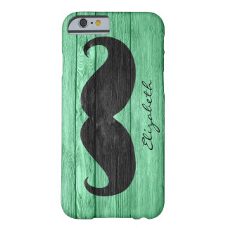 Monogramme fait sur commande #7 de moustache coque iPhone 6 barely there