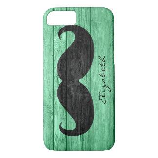 Monogramme fait sur commande #7 de moustache coque iPhone 7