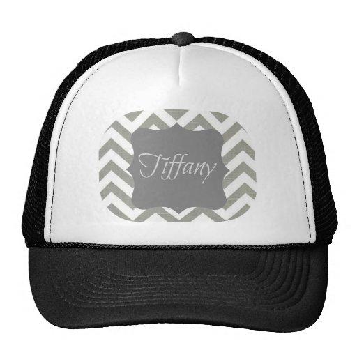 Monogramme Tiffany Chevron Casquettes De Camionneur