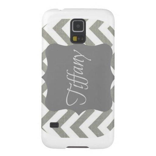 Monogramme Tiffany Chevron Protection Galaxy S5