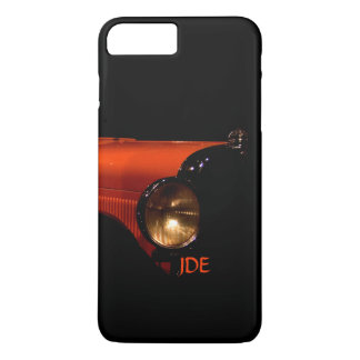 Monogrammed Antique Car in the Abstract iPhone 7 Plus Case