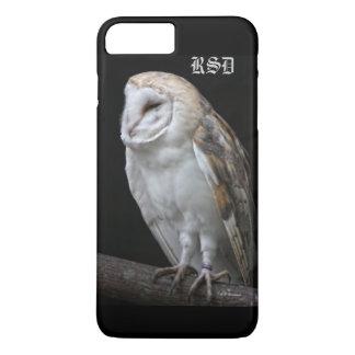 Monogrammed Barn Owl iPhone5 case
