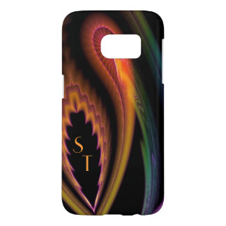Monogrammed Bullet of Color Samsung Galaxy S7 Case