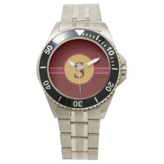 Monogrammed Calie Design Watch/ Letter S Watch
