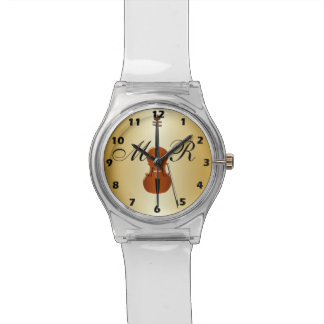 Monogrammed Cello Watch