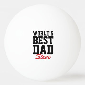 Monogrammed Father's Day Ping Pong Balls Ping-Pong Ball