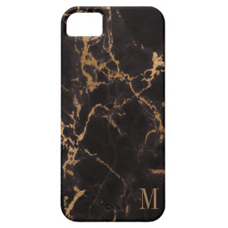 Monogrammed Gold Glitter iPhone 5 Cover