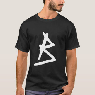Monogrammed Grunge T-Shirt