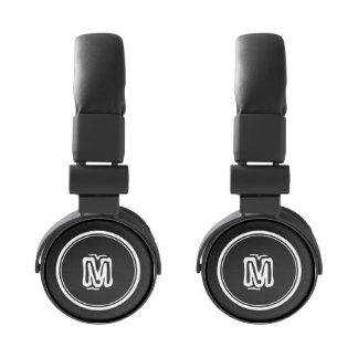 Monogrammed headphones | Personalizable monogram