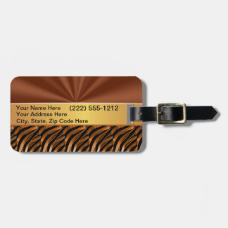 Monogrammed Luggage Tags for Women