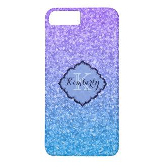 Monogrammed Multicolored Glitter iPhone 8 Plus/7 Plus Case