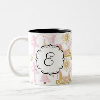 Monogrammed Nutcracker Suite Ballet Tea Coffee Mug