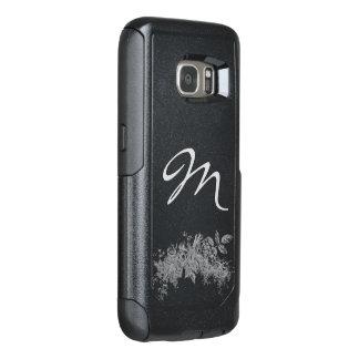 Monogrammed OtterBox Samsung Galaxy S7 Case