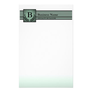 monogrammed professional custom stationery