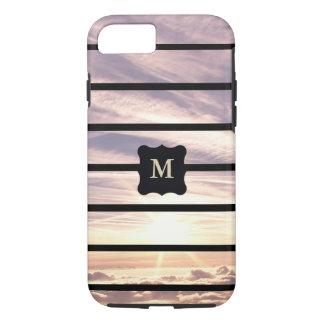 Monogrammed sky scene iPhone 8/7 case