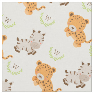 Monogrammed | Sweet Safari Fabric
