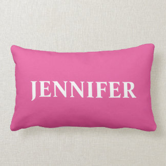 Monogrammed Throw Pillow