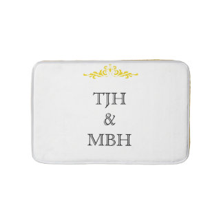 Monograms Bath Mat