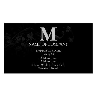 Monograms For BusinessCards Business Card Template