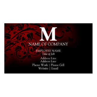 Monograms For BusinessCards Business Card Templates