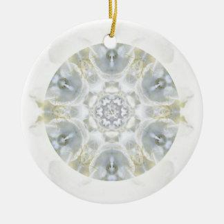 Monoi Gardenia Angels Ceramic Ornament