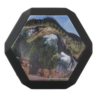 Monolophosaurus dinosaur - 3D render Black Bluetooth Speaker