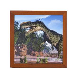 Monolophosaurus dinosaur - 3D render Desk Organizer