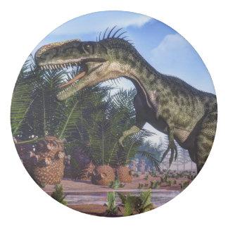Monolophosaurus dinosaur - 3D render Eraser