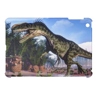 Monolophosaurus dinosaur - 3D render iPad Mini Cases