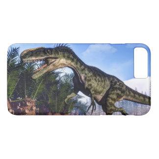 Monolophosaurus dinosaur - 3D render iPhone 8 Plus/7 Plus Case