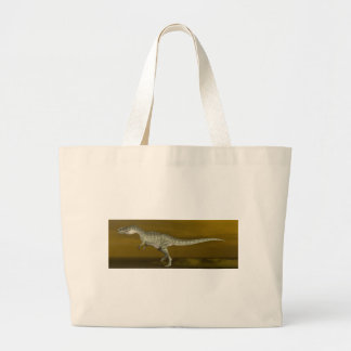 Monolophosaurus dinosaur - 3D render Large Tote Bag