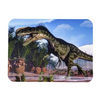 Monolophosaurus dinosaur - 3D render Magnet