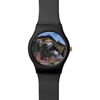 Monolophosaurus dinosaur - 3D render Watch