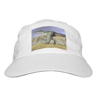 Monolophosaurus dinosaur in the desert - 3D render Hat