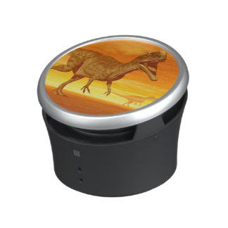 Monolophosaurus dinosaurs- 3D render Bluetooth Speaker