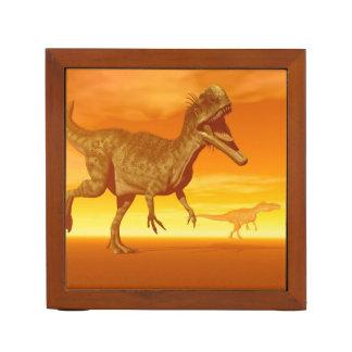 Monolophosaurus dinosaurs- 3D render Desk Organizer