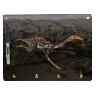 Mononykus dinosaur by night dry erase board