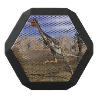 Mononykus dinosaur hunting - 3D render Black Bluetooth Speaker