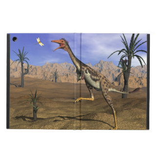 Mononykus dinosaur hunting - 3D render Cover For iPad Air