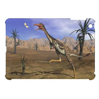 Mononykus dinosaur hunting - 3D render iPad Mini Case